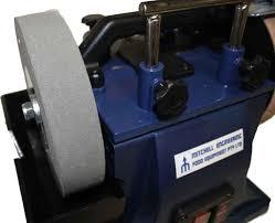 Bench Grinder Knife Sharpener Water Cooled Knife Sharpening U0026 Leather Honing Machine 250 Dia