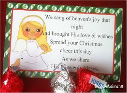 christmas angel kisses nativity advent gift idea day 9 everyday