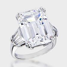 best cubic zirconia engagement rings excellent emerald cut cubic zirconia engagement rings 84 about