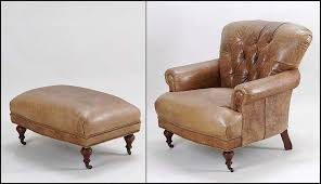 Club Chairs With Ottoman Leather Club Chair And Ottoman Photogiraffe Me