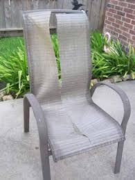 Recover Patio Chairs If You Can Wrap A Gift You Can Recover A Chair Cushion