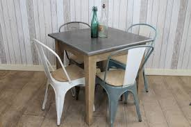 Vintage Bistro Table Chic Cafe Bistro Table Square Stone Top Cafe Restaurant Tables