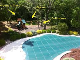 Zip Line For Backyard by Small Backyards With Pools