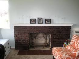 how to stain a brick fireplace random home improvements