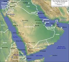 rub al khali map dubai geography dubai location rub al khali