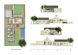 courtyard house plans kelderhof country courtyard house