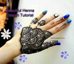 easy simple gulf arabic style latest mehndi designs for hands