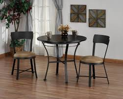 Round White Table And Chairs For Kitchen by Pub Tables And Chairs For Rustic Dining Room Decor In Rustic Home
