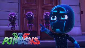 pj masks meet night ninja