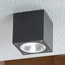 plafonnier d extérieur led cubique cordy luminaire fr