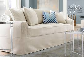 Sofa Covers White by Sure Fit Slipcovers Premier Acadia Separate Seat Sofa Slipcovers