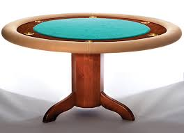 Plans For Round End Table by How To Build A Poker Table Simple Diy Woodworking Project