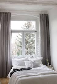 gardinen im schlafzimmer thermo gardine ösen vorhang mit polar fleece rücken matt
