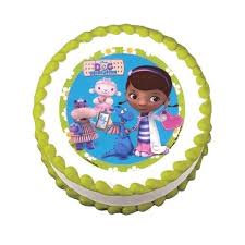 doc mcstuffin cake toppers doc mcstuffins cake toppers topper edible image by uk babycakes site
