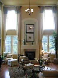 Family Room Drapery Ideas Curtains Two Story Living Room Curtains Designs 25 Best Ideas