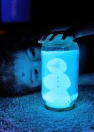 Glow in the Dark DIY Snow Globe  AllFreeChristmasCraftscom