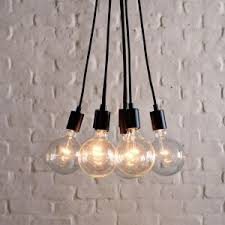 Bulb Light Fixture Living Room Edison Light Fixture Reilly Copper