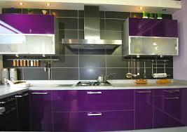 cuisine aubergine cuisine équipée couleur aubergine cuisine en image