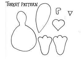 turkey beak templates happy thanksgiving