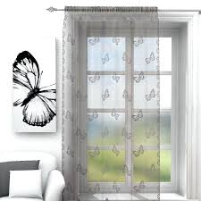sheer voile french door panel curtain lace panels u2013 apartment curtains
