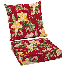 Outdoor Furniture Cushions Jordan Manufacturing Outdoor Patio 1 Piece Chair Cushion Flamingo