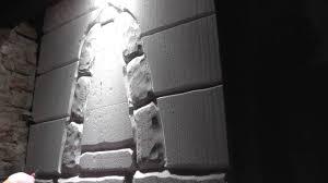 how to kerkerwand selber machen burgmauer steine fassade mit