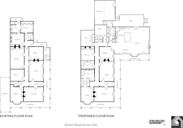 Californian Bungalow Floor Plans by Second Story Renovations And Extensions Melbourne