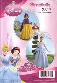 simplicity sewing pattern 2817 girls u0027 disney princess cinderella