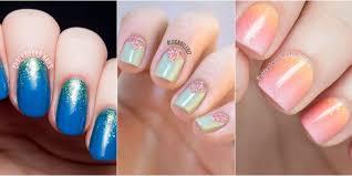 easy nail art glitter glitter nail design ideas home decor idea weeklywarning me