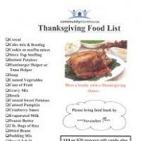 thanksgiving food list 2012 bootsforcheaper