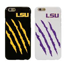 lsu home decor mobilemars lsu tigers case for iphone 6 6s college hybrid