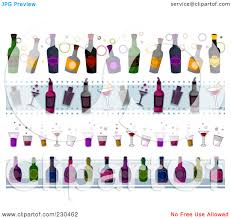 alcoholic drinks clipart alcoholic drinks border clipart