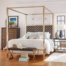 Four Poster Bed Frame Queen by Inspire Q Solivita Queen Size Canopy Champagne Gold Metal Poster
