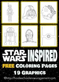 4th star wars inspired coloring pages