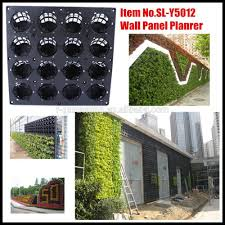 Wall Gardening System by Vertical Garden Green Wall Panel Planter Sl Y5012 Plstiac Modular
