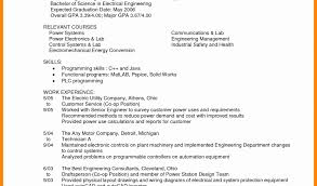 Download Resume For Electrical Engineer Fresh Manufacturing Test Engineer Cover Letter Resume Sample