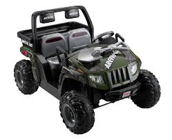jeep arctic power wheels 12v battery toy ride on arctic cat camo