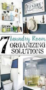 7 laundry room organizing solutions bless u0027er house