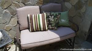 sew easy outdoor cushion covers part 2 confessions of a serial