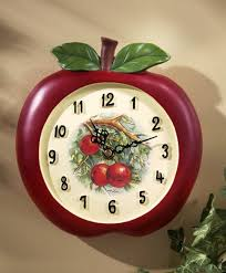 Modern Clocks For Kitchen by 15 Fruity And Stylish Kitchen Wall Clocks Rilane