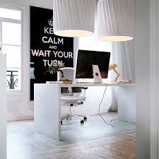 White Office Decorating Ideas White Home Office Interior Design Ideas