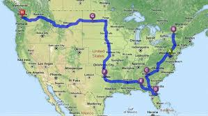 best road maps for usa scientist randy uses algorithms to plot the best route