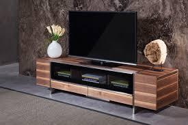 Modern Furniture Tv Stand Domus Lorena Modern Walnut Tv Stand