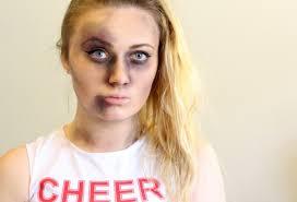 Zombie Cheerleader Zombie Cheerleader Make Up Tutorial Party Delights Blog