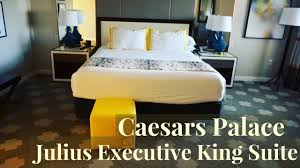 caesars palace las vegas julius executive suite youtube