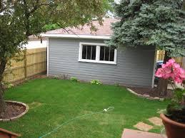 troy street bungalow backyard