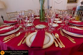 Table Setting Chargers - james house mansion sleepy hollow new york dan and miguel