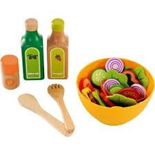 jouet imitation cuisine hape cuisine set de salade jouet en bois enfant 3 ans jeu d