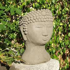 Medusa Planter Designer Stone Lady U0027s Head Planter Raw Hayneedle