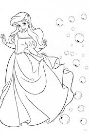 ariel eric coloring pages kids coloring